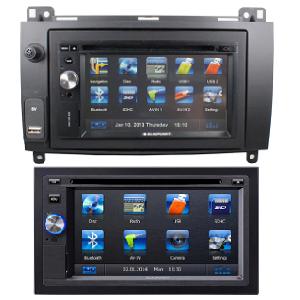 Multimedia Doppel Din Blaupunkt Sprinter Radio LCD